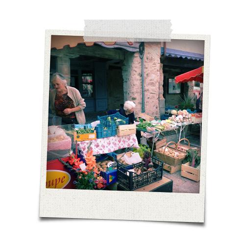 marché de Najac