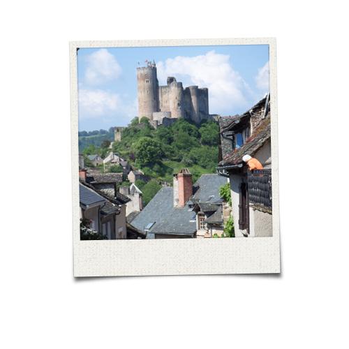 Najac et le château
