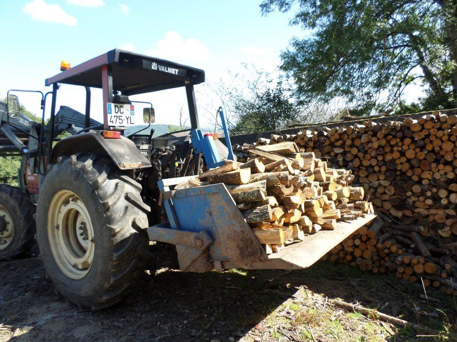 rangement du bois